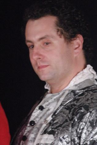 Chris walters as George Etherege