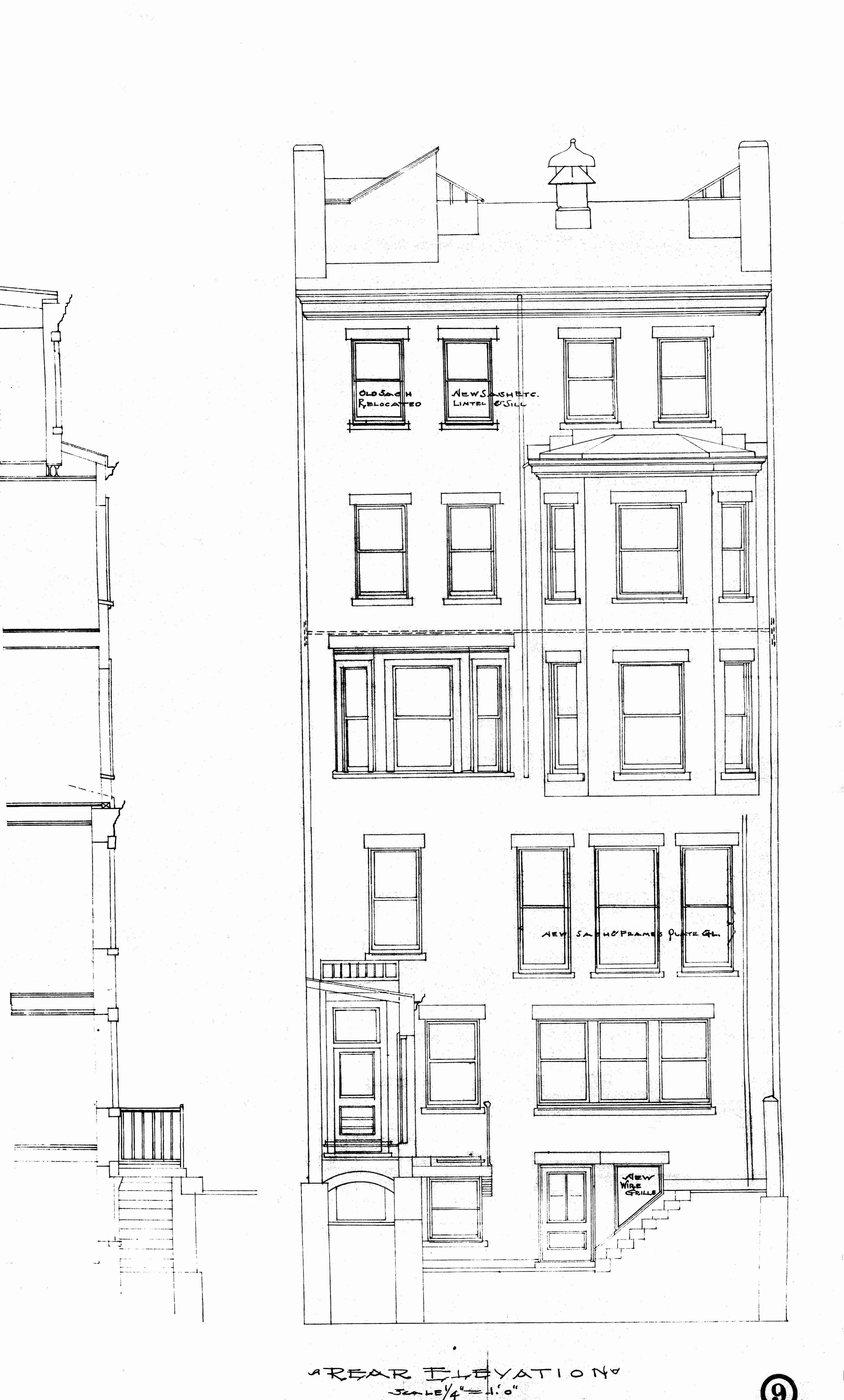 Architectural Plans: 347 Commonwealth