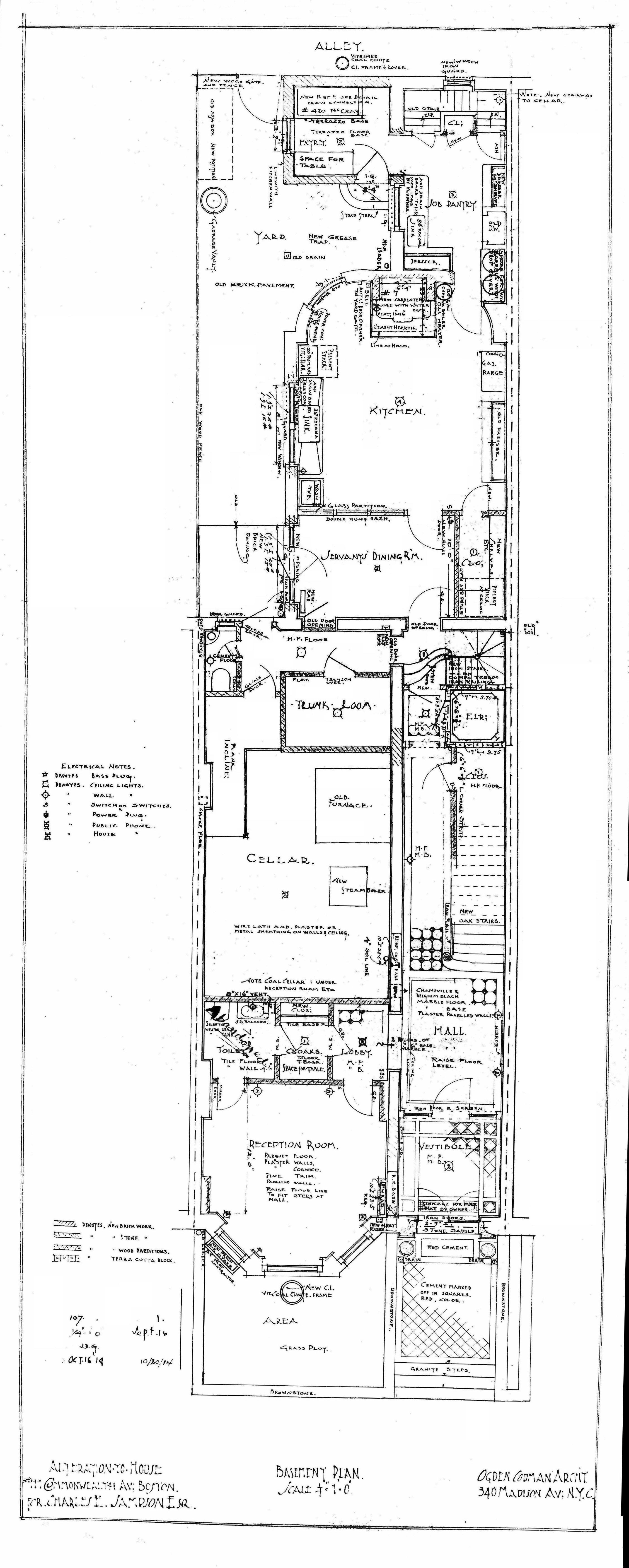 Architectural Plans: 111 Commonwealth