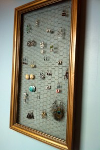 DIY Earring Display | Back Bayou Vintage