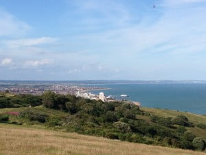 Caroline Mulliner, Doctor of Chiropractic- When I am not busy working at Lushington Chiropractic, I spend my weekends exploring the lovely areas around Eastbourne in my search for exercise. Last weekend I spent my time up beachy head.