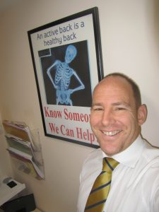Doctor of Image shows chiropractor Dr James Revell.
