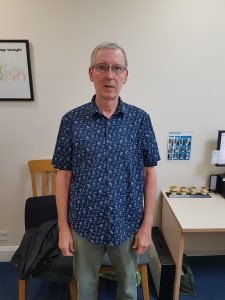 Image shows Lushington Chiropractic guest Brian who has a history of sciatica