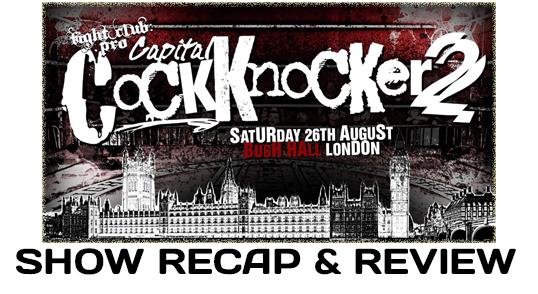 Fight Club: Pro – Capital Cock Knocker 2 (August 26, 2017)