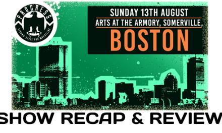 PROGRESS Boston (August 13, 2017)