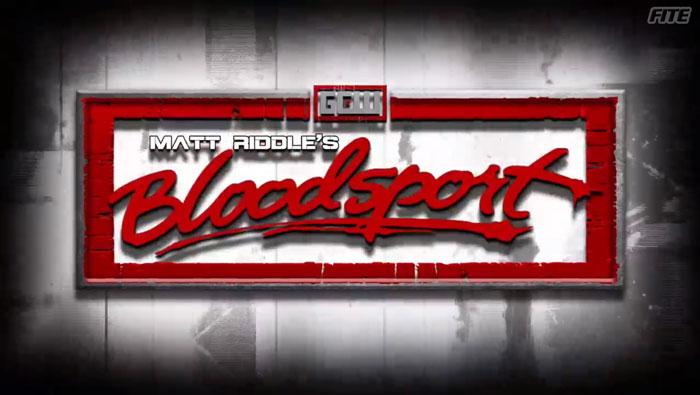 GCW Matt Riddle's Bloodsport (April 05, 2018)