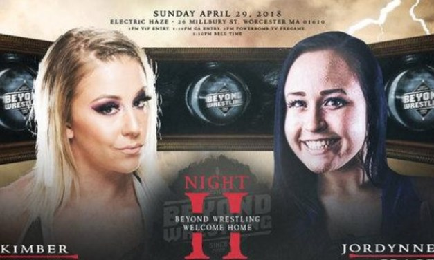 Beyond Wrestling Welcome Home – Night Two (April 29, 2018)