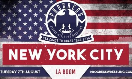 PROGRESS Coast to Coast: New York (August 07, 2018)