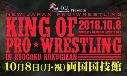 NJPW King of Pro Wrestling (October 08, 2018)