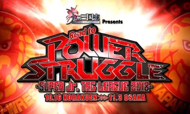 NJPW Road to Power Struggle – Super Junior Tag League 2018 – Night Twelve (November 01, 2018)