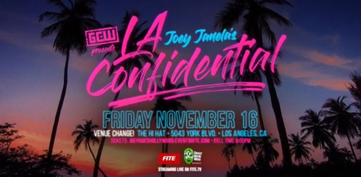 GCW Joey Janela's LA Confidential (November 16, 2018)