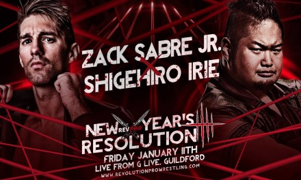 Revolution Pro Wrestling New Year's Resolution (January 11, 2019)