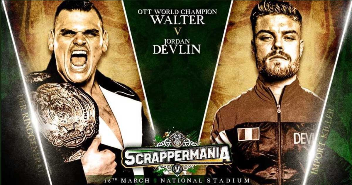 Match Review: Jordan Devlin vs. WALTER (OTT ScrapperMania V) (March 16, 2019)
