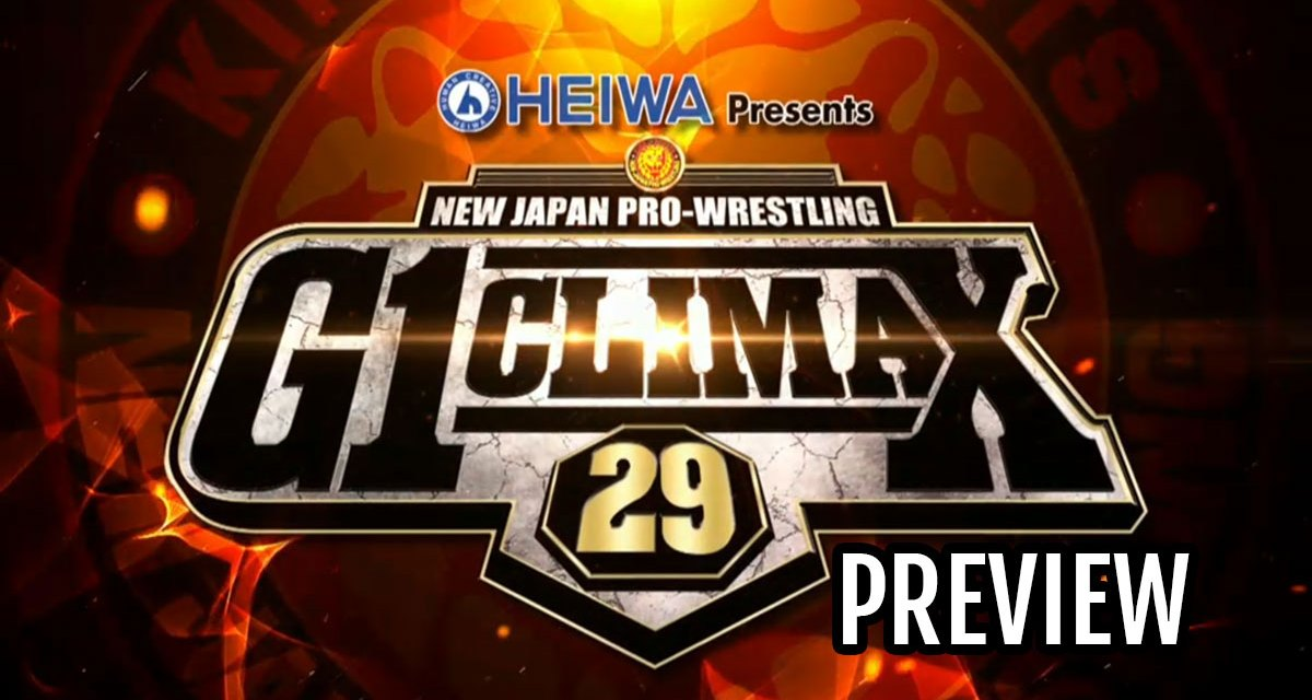 NJPW G1 Climax 29 Preview