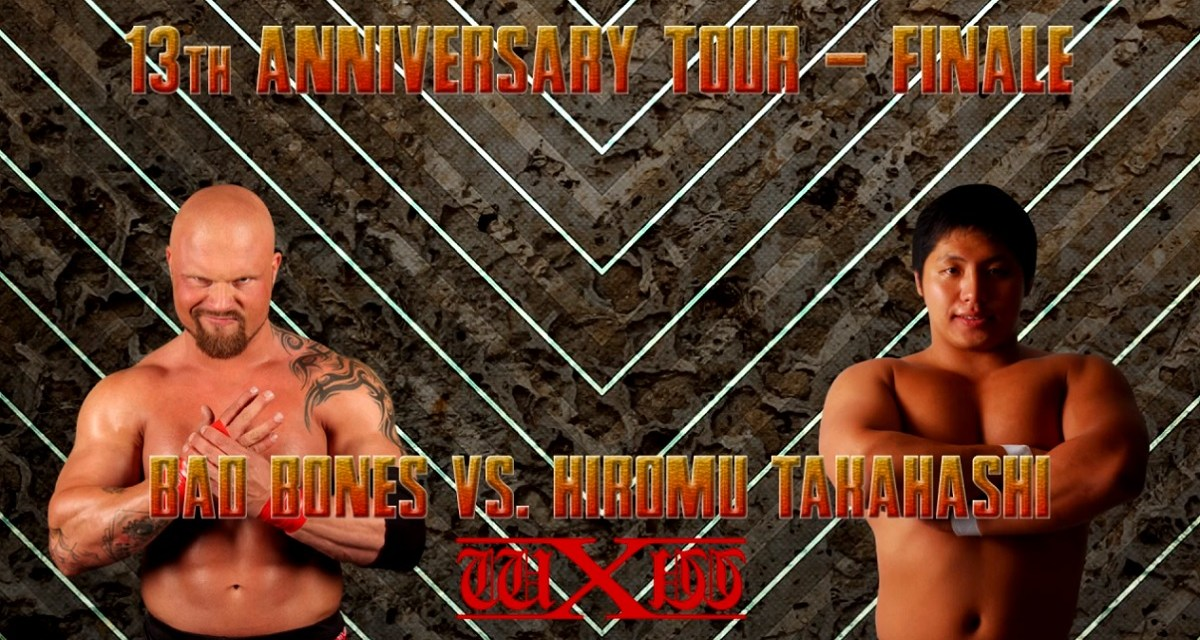 Match Review: Bad Bones vs. Hiromu Takahashi (wXw 13th Anniversary Tour Finale) (November 30, 2013)