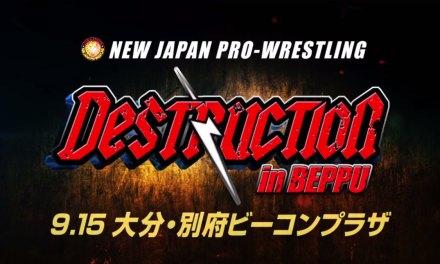 NJPW Destruction in Beppu (September 15, 2019)