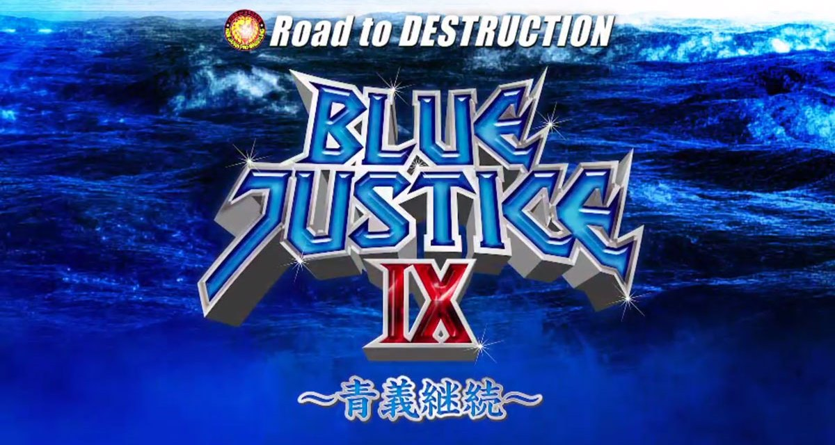 NJPW Road to Destruction – Night Four (Blue Justice IX) (September 08, 2019)