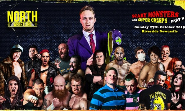 NORTH Wrestling NCL.21: Scary Monsters & Super Creeps Part 2 (October 27, 2019)
