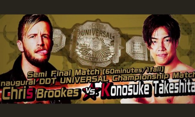 Match Review: Chris Brookes vs. Konosuke Takeshita (DDT Into The Fight 2020) (February 23, 2020)