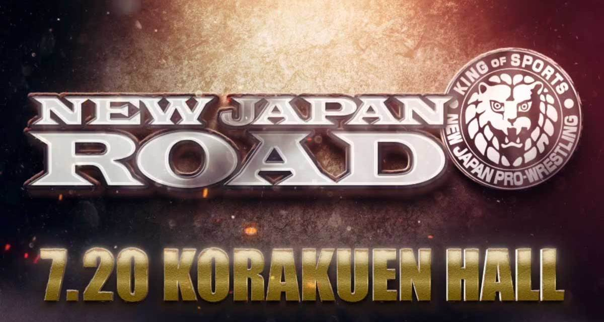 NJPW New Japan Road (July 20, 2020)
