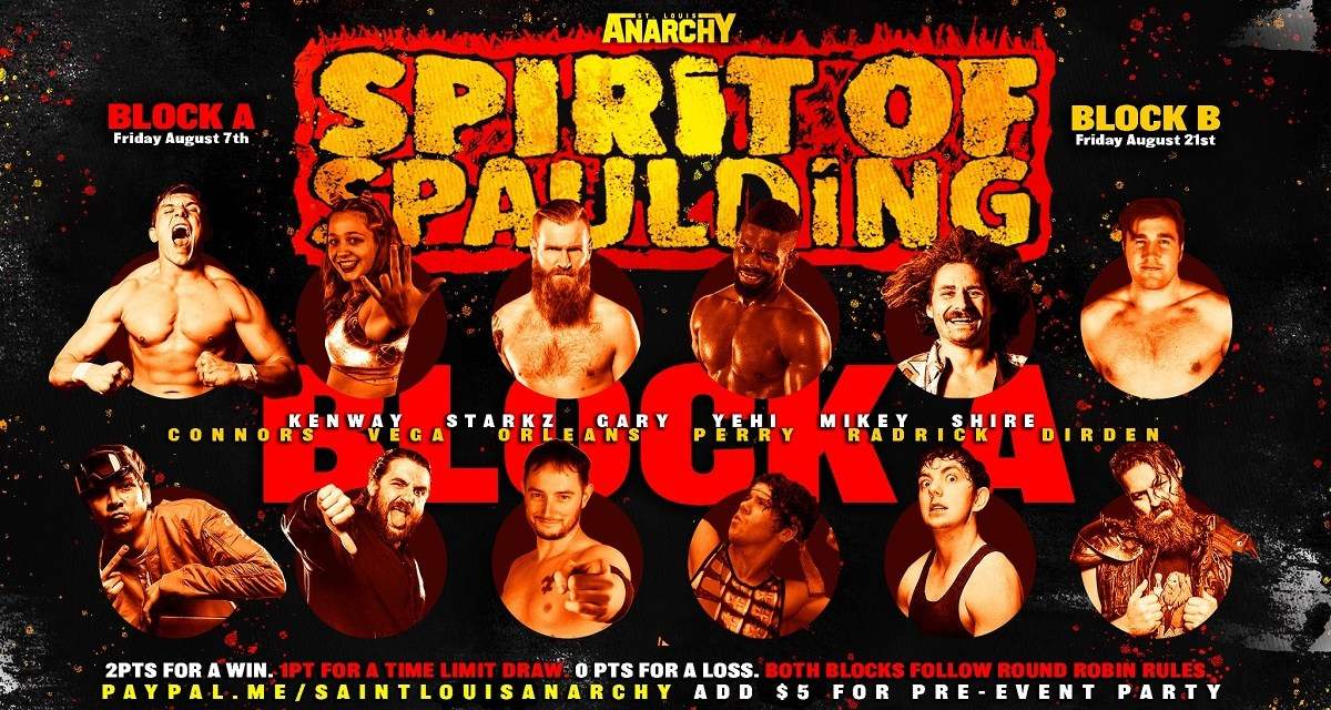 Match Review: Thomas Shire vs. Fred Yehi (St Louis Anarchy Spirit of Spaulding Block A) (August 07, 2020)