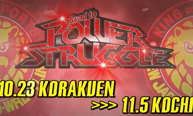 NJPW Road to Power Struggle – Night One (October 23, 2020)