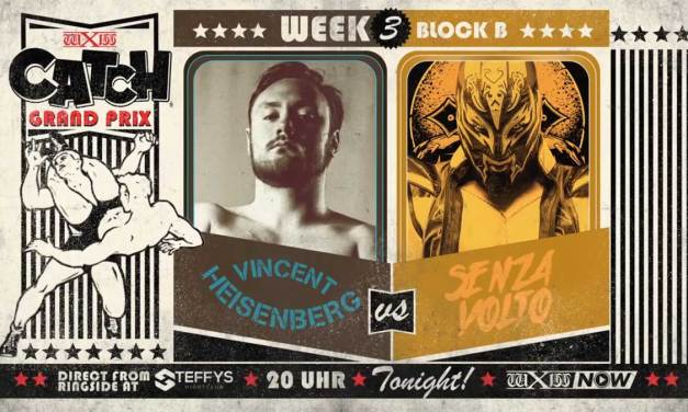 wXw Catch Grand Prix Match Review: Vincent Heisenberg vs. Senza Volto (November 13, 2020)