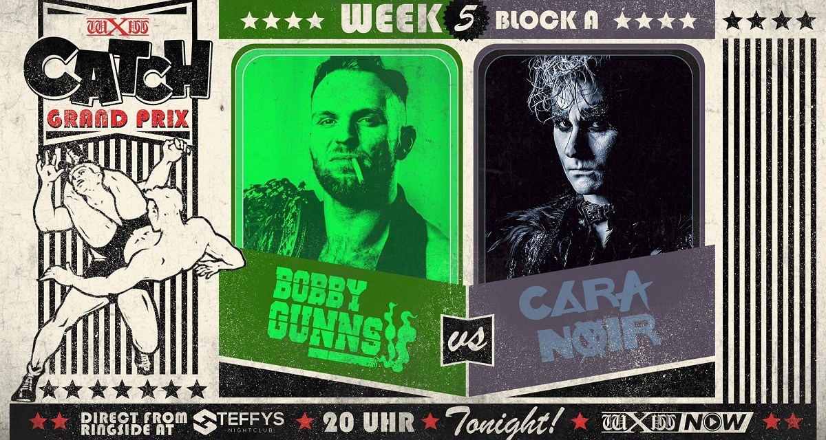 wXw Catch Grand Prix Match Review: Cara Noir vs. Bobby Gunns (November 25, 2020)