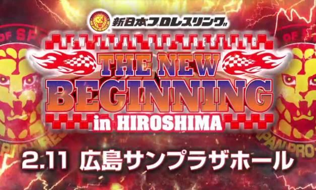 NJPW The New Beginning in Hiroshima – Night Two (February 11, 2021)