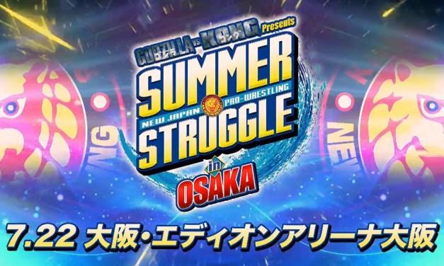 NJPW Summer Struggle in Osaka – Night One (July 22, 2021)