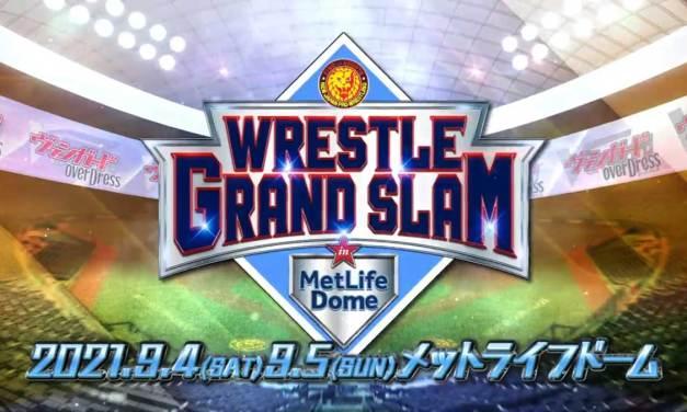 NJPW Wrestle Grand Slam in MetLife Dome – Night One (September 04, 2021)