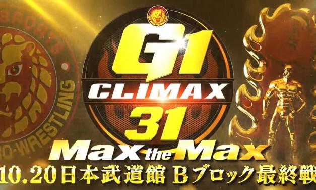 NJPW G1 Climax 31 – Night Eighteen (Block B Finals) (October 20, 2021)