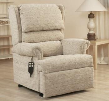grey recliner chair