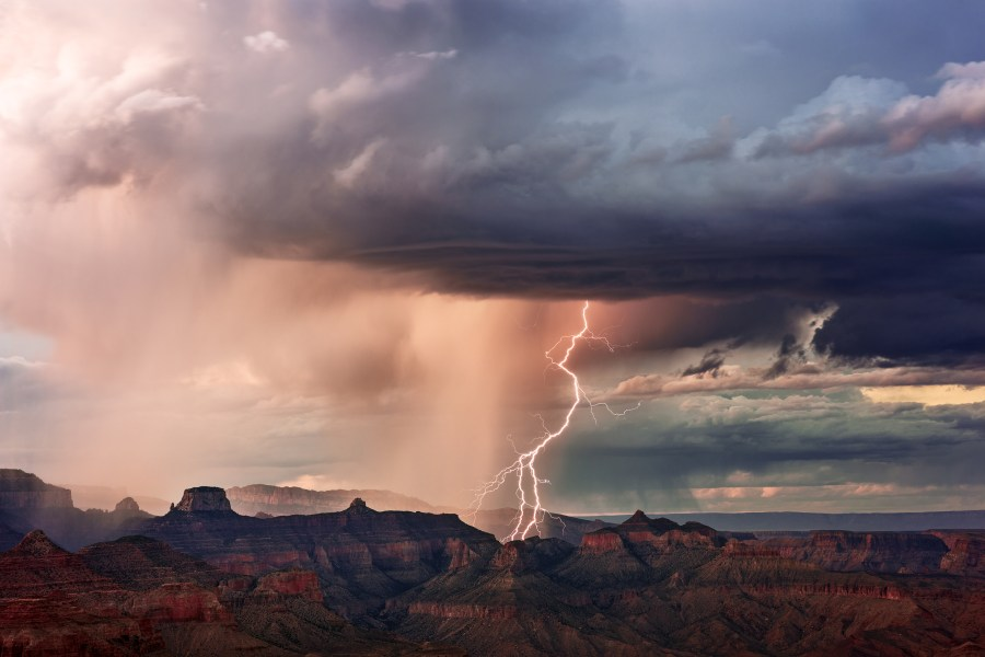 Southwest Monsoon: Grand Canyon Country