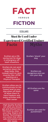 Facts vs Myths of Ecollar Dog Training