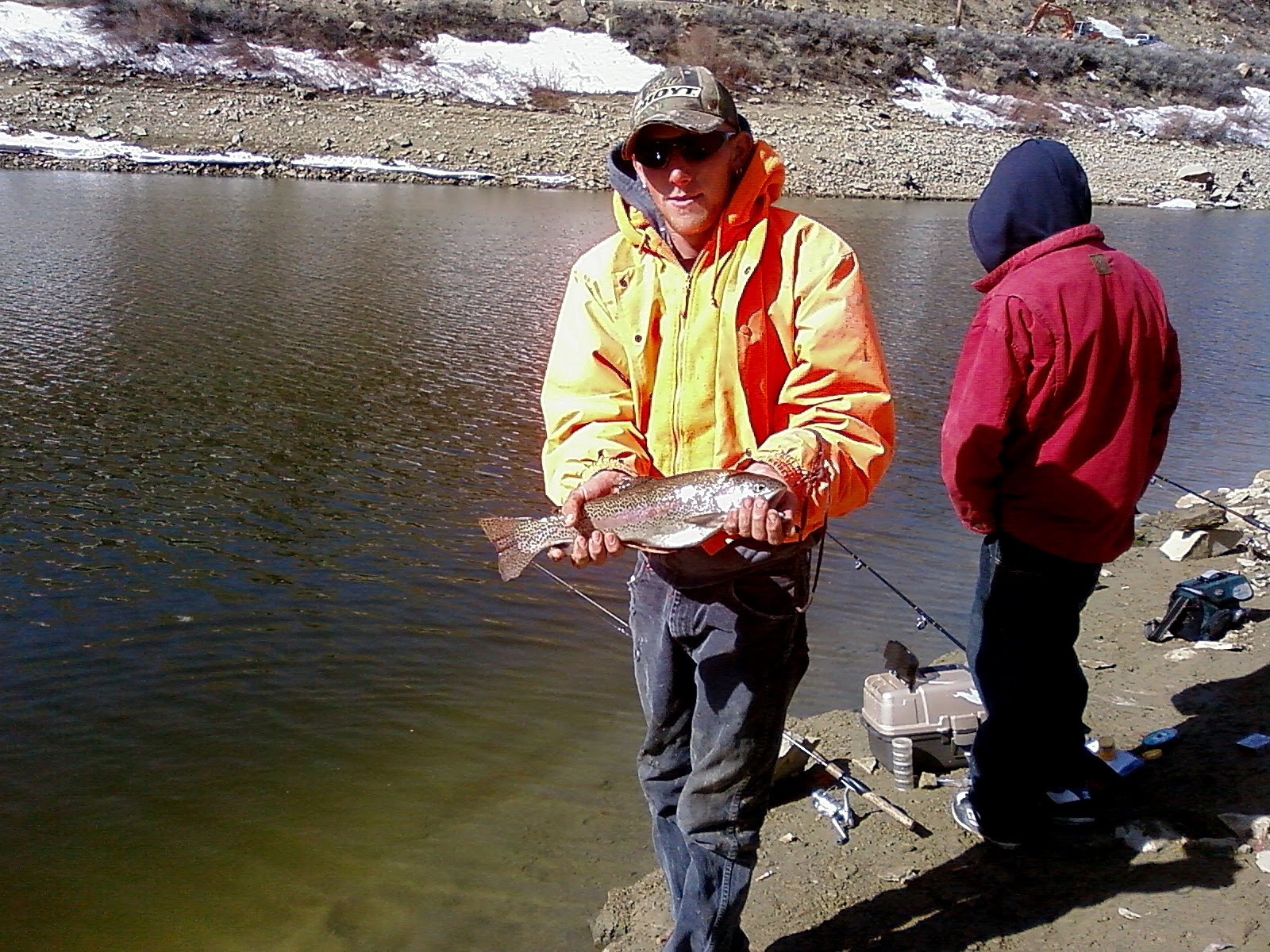 ice fishing lawn chair pottery barn manhattan melting hot at scofield reservoir backcountry utah that will keep your kids excited and you pulling fish out of the water from comfort is about to begin