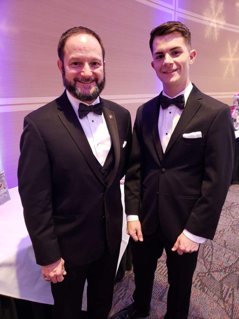 Dirk Kuntz and his son, Devin