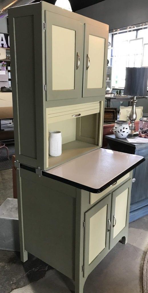 1930s40s Hoosier Cabinet  The Back Door Furnishings