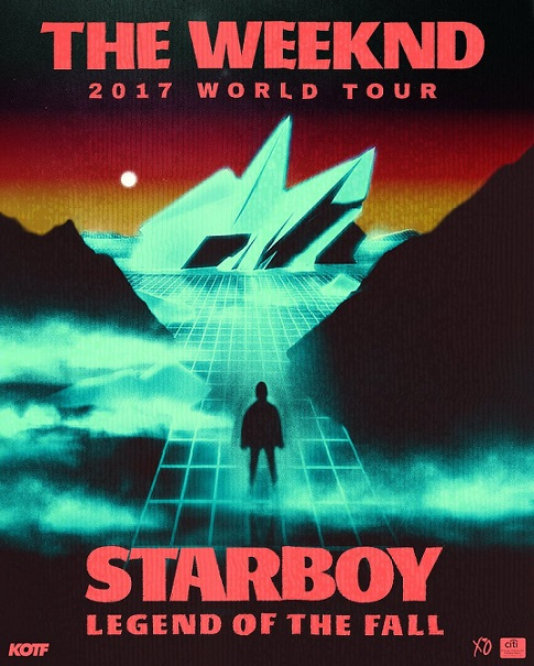 The Weeknd Legend Of The Fall Tour Dates , Legend of the fall tour , The Weeknd , The Weeknd Starboy Legend Of The Fall Tour