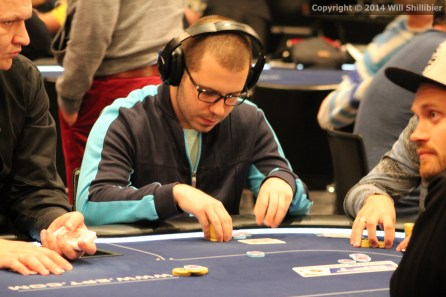 Member of Team USA for the upcoming GPI Global Poker Masters, Dan Smith