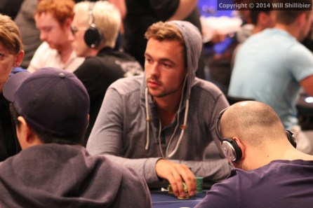 Ole Schemion, pictured here competing in the EPT Barcelona High Roller