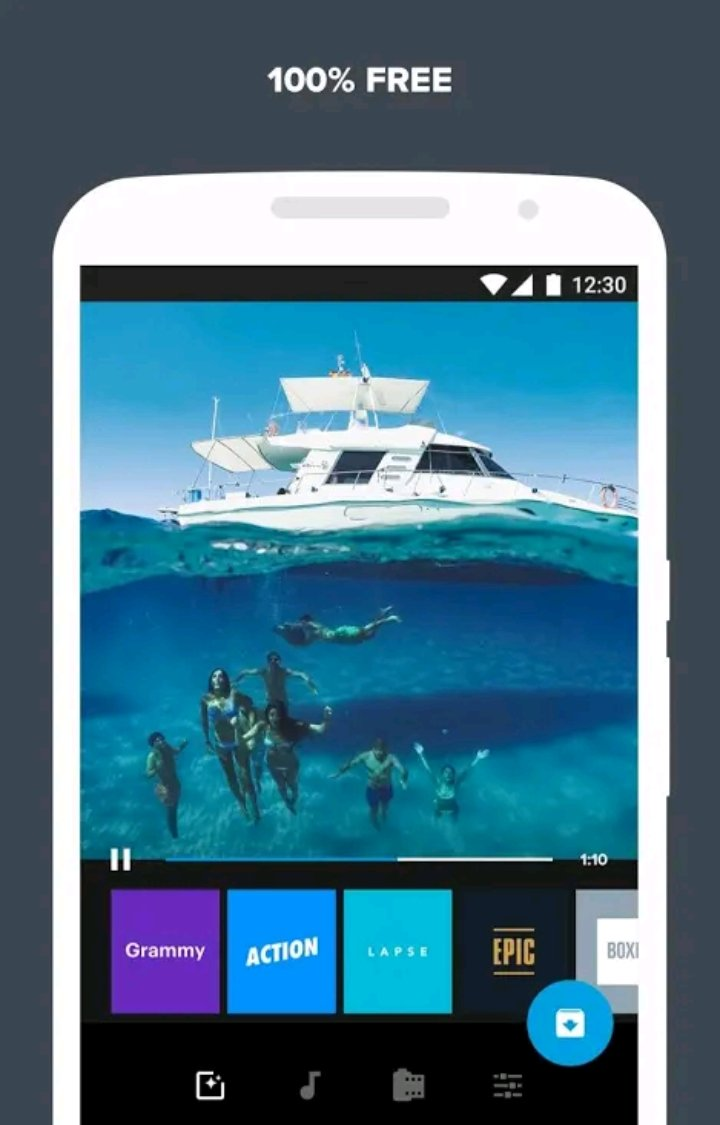 Without watermark best video editor