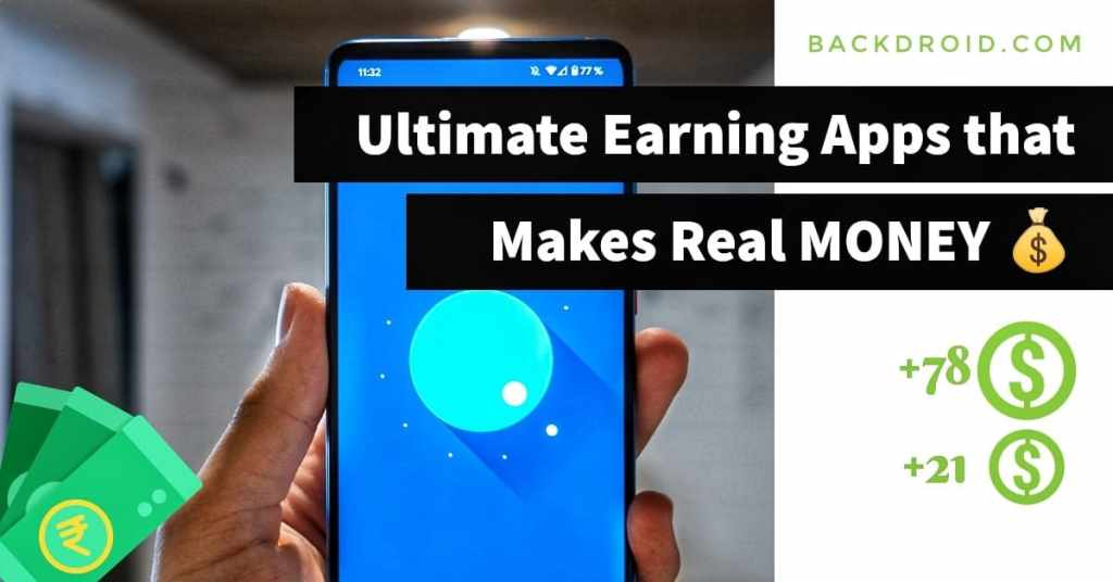 Online earning apps that makes money
