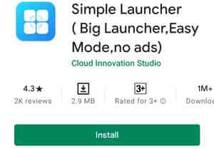 Simple Launcher, free launcher without ads