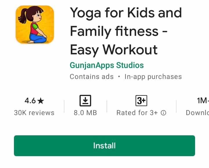 Fitness app 2021 for family