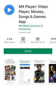 Mx Video Player App