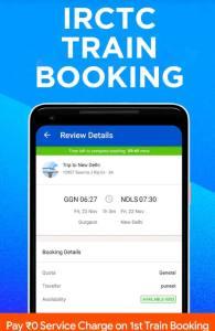 Ixigo Train ticket booking App