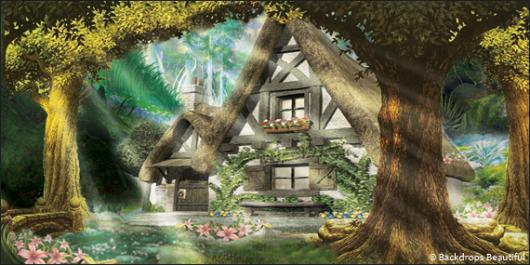 Alice And Wonderland Quote Wallpapers Backdrops Beautiful Hand Painted Scenic Backdrop Rentals