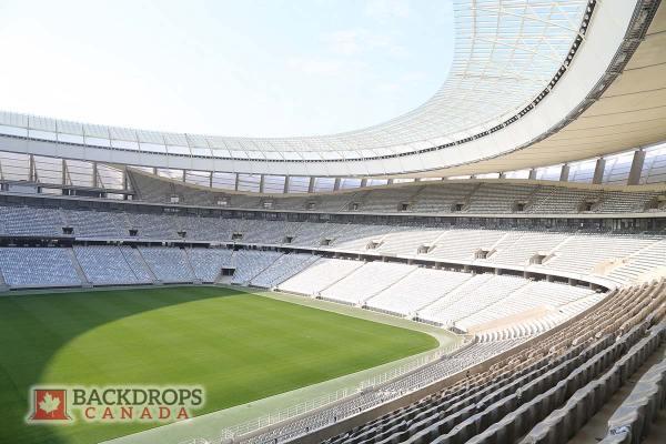 Side View Football Stadium