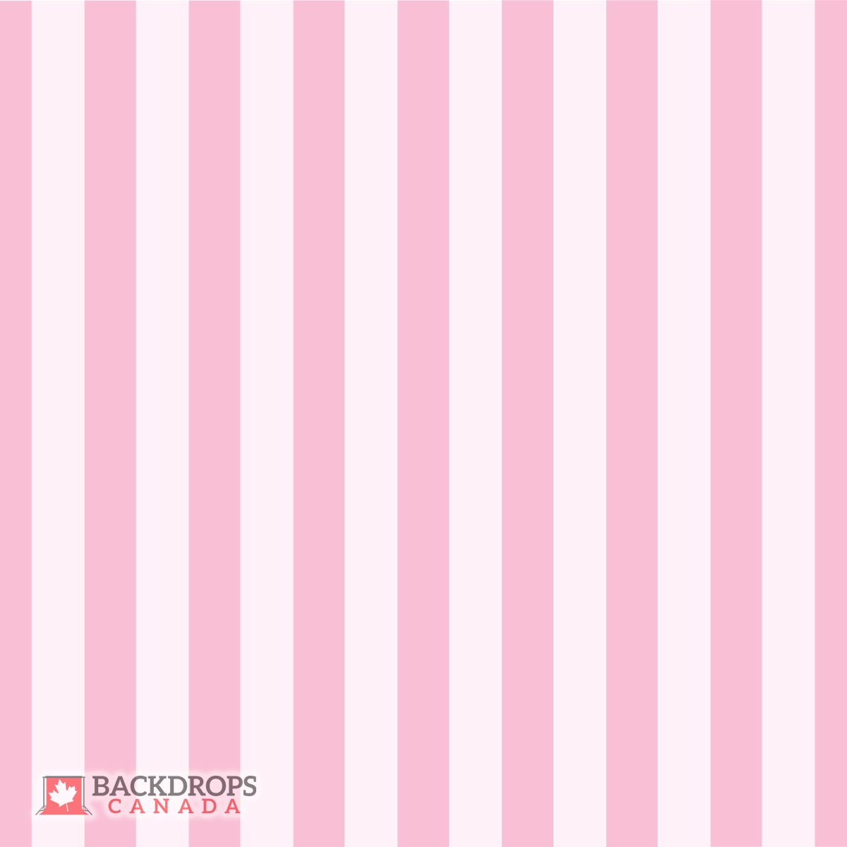 Thick Pink Stripes Backdrops Canada